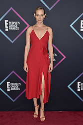 Amber Valletta attends the People's Choice Awards 2018 at Barker Hangar on November 11, 2018 in Santa Monica, CA, USA. Photo by Lionel Hahn/ABACAPRESS.COM