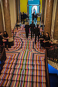 LIAM GILLICK STAIRCASE, Royal Academy Summer exhibition private view. Piccadilly. London. 3 June 2015