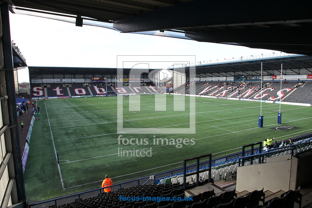 Picture by Michael Sedgwick/Focus Images Ltd +44 7900 363072.29/03/2013.General view of the Stobart Stadium Halton, home of the Widnes Vikings, Widnes.