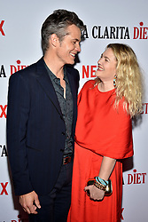 Drew Barrymore and Timothy Olyphant attend Netflix's 'Santa Clarita Diet' Season 2 Premiere at The Dome at Arclights Hollywood on March 22, 2018 in Los Angeles, California. Photo by Lionel Hahn/AbacaPress.com