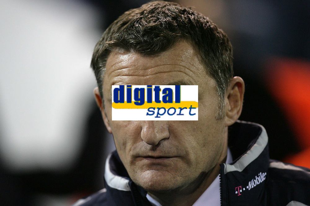 Photo: Rich Eaton.<br /> <br /> West Bromwich Albion v Cardiff City. Carling Cup. 25/09/2007. West Brom manager Tony Mowbray pictured before in which his team goes 4-0 down.