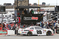 November 3, 2018 - Ft. Worth, Texas, United States of America - Christopher Bell (20) comes down pit road for service during the O'Reilly Auto Parts Challenge at Texas Motor Speedway in Ft. Worth, Texas. (Credit Image: © Justin R. Noe Asp Inc/ASP via ZUMA Wire)