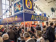 Berlin. Grüne Woche, Australia on the International Food Festival Green Week.
