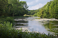 The River Kennet at Chilton Foliat near Hungerford, Berkshire, Uk