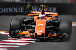 May 25, 2017 - Monaco, Monaco - 02 VANDOORNE Stoffel from Belgim of McLaren Honda MCL32 during the Monaco Grand Prix of the FIA Formula 1 championship, at Monaco on 25th of 2017. (Credit Image: © Xavier Bonilla/NurPhoto via ZUMA Press)