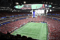 October 22, 2017 - Atlanta, GA, USA - Atlanta, Georgia - Sunday, October 22, 2017. Atlanta United drew, 2-2, with Toronto FC, in front of an MLS single match record crowd of 71,874 at Mercedes Benz Stadium. (Credit Image: © Perry Mcintyre/ISIPhotos via ZUMA Wire)