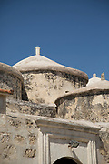 Architecture of Agia Paraskevi Church captured from low angle, Paphos, Cyprus