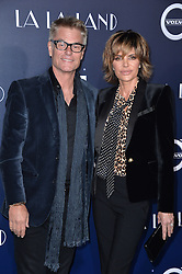 Harry Hamlin, Lisa Rinna attend the premiere of Lionsgate's 'La La Land' at Mann Village Theatre on December 6, 2016 in Los Angeles, CA, USA. Photo by Lionel Hahn/ABACAPRESS.CO