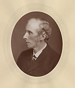 'Richard Norman Shaw (1831-1912), c1880,  Influential Scottish-born architect. Among his many buildings are ''Cragside'', Northumberland for ord Armstrong, New Scotland Yard, London, and Bryanston School, Dorset.'