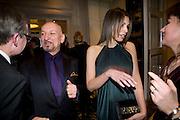 Daniela Barbosa de Carneiro ; Sir Ben Kingsley; , The London Critics' Circle Film Awards 2009 in aid of the NSNCC. Grosvenor House Hotel . Park Lane. London. 4 February 2009 *** Local Caption *** -DO NOT ARCHIVE -Copyright Photograph by Dafydd Jones. 248 Clapham Rd. London SW9 0PZ. Tel 0207 820 0771. www.dafjones.com<br /> Daniela Barbosa de Carneiro ; Sir Ben Kingsley; , The London Critics' Circle Film Awards 2009 in aid of the NSNCC. Grosvenor House Hotel . Park Lane. London. 4 February 2009