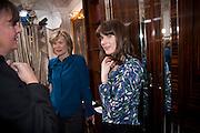 THE DUCHESS OF HAMILTON; LADY SOPHIA HAMILTON; Hamlton-Paris host a trunk show for Autumn/Wnter 2010. The Connaught. Carlos Place. Mayfair. London W1. 23 March 2010.