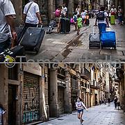 Carrer de la Boqueria. Barrio Gótico.
