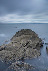 Rocks at Prestonpans near Edinburgh