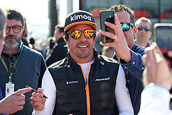 February 26, 2019 - Barcelona, Spain - Fernando Alonso during the Formula 1 test in Barcelona, on 26th February 2019, in Barcelona, Spain. (Credit Image: © Joan Valls/NurPhoto via ZUMA Press)