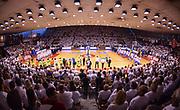 DESCRIZIONE : Campionato 2014/15 Serie A Beko Grissin Bon Reggio Emilia - Dinamo Banco di Sardegna Sassari Finale Playoff Gara7 Scudetto<br /> GIOCATORE : PalaBigi<br /> CATEGORIA : Palazzo Palazzetto Arena Panoramica<br /> SQUADRA : Grissin Bon Reggio Emilia<br /> EVENTO : LegaBasket Serie A Beko 2014/2015<br /> GARA : Grissin Bon Reggio Emilia - Dinamo Banco di Sardegna Sassari Finale Playoff Gara7 Scudetto<br /> DATA : 26/06/2015<br /> SPORT : Pallacanestro <br /> AUTORE : Agenzia Ciamillo-Castoria/L.Canu