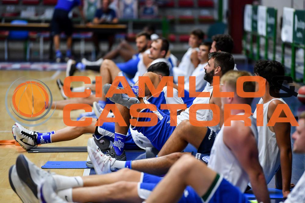 Team<br /> Allenamento Banco di Sardegna Dinamo Sassari<br /> LBA Legabasket Serie A 2021-2022<br /> Sassari, 12/08/2021<br /> Foto L.Canu / Ciamillo-Castoria