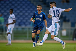 September 20, 2018 - Rome, Lazio, Italy - 20th September 2018, Stadio Olimpico, Rome, Italy; UEFA Europa League football, Lazio versus Apollon Limassol; Luis Alberto of Lazio scores a gol in the 14th minute  Credit: Giampiero Sposito/Pacific Press (Credit Image: © Giampiero Sposito/Pacific Press via ZUMA Wire)