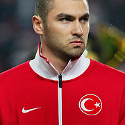 Turkey's Burak YILMAZ during their UEFA EURO 2012 Qualifying round Group A soccer match Turkey between Austria at Sukru Saracoglu stadium in Istanbul March 29, 2011. Photo by TURKPIX