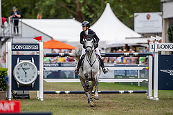 MEYER-ZIMMERMANN, Janne-Friederike (GER), Bali<br /> Wiesbaden - Longines Pfingstturnier 2019<br /> Preis des Hessischen Ministerpräsidenten<br /> CSI4* - Int. Springprüfung mit Stechen <br /> Große Tour – 2. Qualifikation für LONGINES Grand Prix (Prfg. Nr. 20) <br /> Großer Preis der Landeshauptstadt Wiesbaden <br /> 09. Juni 2019<br /> © www.sportfotos-lafrentz.de/Stefan Lafrentz