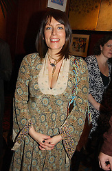 Actress FAY RIPLEY at the launch of  'Idiot-Proof Diet' by Neris Thomas and India Knight held at The Arts Club, 40 Dover Street, London on 11th January 2007.<br /><br />NON EXCLUSIVE - WORLD RIGHTS
