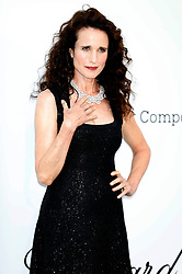 May 23, 2019 - Antibes, Alpes-Maritimes, Frankreich - Andie MacDowell attending the 26th amfAR's Cinema Against Aids Gala during the 72nd Cannes Film Festival at Hotel du Cap-Eden-Roc on May 23, 2019 in Antibes (Credit Image: © Future-Image via ZUMA Press)