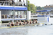 Henley, Great Britain. Heat of the Thames Challenge Cup.  Green Lake Crew at  2009 Henley Royal Regatta.  Wednesday 01/07/2009 [Mandatory Credit. Peter Spurrier/Intersport Images] . HRR.