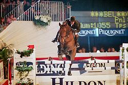 Wauters Eric, BEL, Obrahim van het Lindenhof<br /> CSI Monte Carlo 1999<br /> © Hippo Foto - Dirk Caremans<br /> 22/11/17