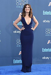 Celebrities arrive on the red carpet for the 22nd Annual Critics' Choice Awards held at Barker Hanger in Santa Monica. 11 Dec 2016 Pictured: Mandy Moore. Photo credit: American Foto Features / MEGA TheMegaAgency.com +1 888 505 6342