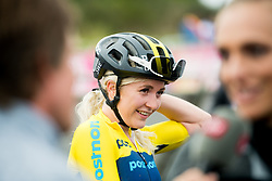 August 7, 2018 - Glasgow, UNITED KINGDOM - 180807 Linn Gustafzzon of Sweden after competing in the Women's Mountain Bike Cycling during the European Championships on August 7, 2018 in Glasgow..Photo: Jon Olav Nesvold / BILDBYRÃ…N / kod JE / 160288 (Credit Image: © Jon Olav Nesvold/Bildbyran via ZUMA Press)