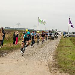 Philippine (NED) CYCLING OCTBER 17<br /> Omloop van de Braakman<br /> Op de kasseien