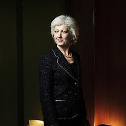 PARIS, FRANCE. FEBRUARY 9, 2011. Marie-Claire Capobianco, head of BNP Paribas' Wealth Management for Domestic Market. (photo : Antoine Doyen)