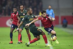 March 15, 2019 - Lille, France, FRANCE - Luiz Araujo (Losc) vs SIDIBE Djibril  (Credit Image: © Panoramic via ZUMA Press)