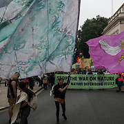 Extinction Rebellion March for Nature: Rebel for Life in centre London on 2021-09-04.