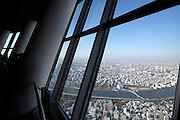 Skytree Tower view over Tokyo from Tembo deck