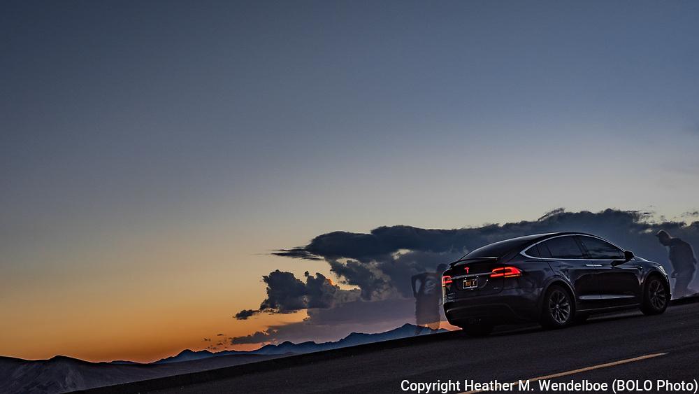 September 17, 2018<br /> Trail Ridge Road<br /> Rocky Mountain National Park, Colorado<br /> (Random Tesla: Owner Unknown)