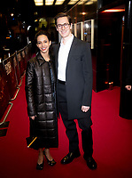 """Francesca Hayward and William Bracewell  at the World Premiere of """"Romeo & Juliet: Beyond Words"""" at The Curzon Mayfair on November 18, 2019 London, England Photo Brian Jordan"""