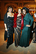 l to r: Gail Perry, Crystal Whaley and Kamilah Turner at The Fifth Annual Grace in Winter Gala honoring Susan Taylor, Kephra Burns, Noel Hankin and Moet Hennessey USA and benfiting The Evidence Dance Company held at The Plaza Hotel on February 3, 2009 in New York City.