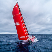 Leg 9, from Newport to Cardiff, day 02 on board MAPFRE, Drone shot. 21 May, 2018.