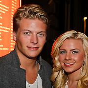 "NLD/Amsterdam/20101011 - Premiere show Hans Klok show "" Huricane"" , Thomas Berge en partner Daisy Drost"