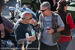 "Willie's Tropical Tattoo ""Chopper Time"" old school chopper show during Daytona Bike Week's 75th Anniversary event. Ormond Beach, FL, USA. Thursday March 10, 2016.  Photography ©2016 Michael Lichter."