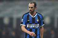 Diego Godin of Inter during the Serie A match at Giuseppe Meazza, Milan. Picture date: 9th February 2020. Picture credit should read: Jonathan Moscrop/Sportimage