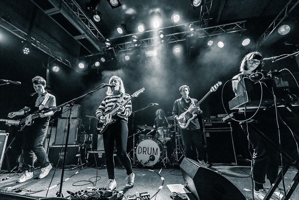 Canadian indie-pop band Alvvays at Gebäude 9 in Cologne