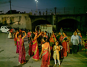 The Dussehra celebration in Chittorgarh. Dussehra is a Hindu celebration and signifies the day of the victory of truth and justice when Lord Rama was successful in killing the demon king Ravana in the famous Indian epic of Ramayana.