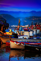 """Rest for the tired fishing boats of Marina Grande Sorrento""…<br />