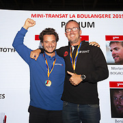 Les vainqueurs de la Mini-Transat La boulagère 2019