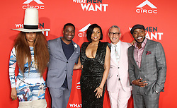 What Men Want Premiere at Regency Theater in Westwood, California on 1/28/19. 28 Jan 2019 Pictured: James Lopez, Taraji P. Henson, Adam Shankman. Photo credit: River / MEGA TheMegaAgency.com +1 888 505 6342