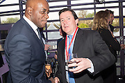 AINSLEY HARRIOTT; ALEC MUMFORD, Preview for The London Motor Show, Battersea Evolution. London. 5 May 2016