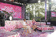 """GOOD MORNING AMERICA - 8/22/19<br /> Taylor Swift performs live from Central Park on """"Good Morning America,"""" Thursday, August 22, 2019, airing on the Walt Disney Television Network.   GMA19<br /> (Walt Disney Television/Paula Lobo) <br /> TAYLOR SWIFT CONCERT"""