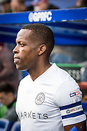 Nedum Onuoha (5) of Queens Park Rangers during the EFL Sky Bet Championship match between Queens Park Rangers and Cardiff City at the Loftus Road Stadium, London, England on 4 March 2017. Photo by Sebastian Frej.