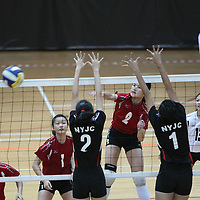 Toa Payoh Sports Hall, Wednesday, May 8, 2013 — Anglo-Chinese Junior College (ACJC) defeated defending champions Nanyang Junior College (NYJC) 3–1 (25–12, 18–25, 25–17, 25–7) to win the final of the National A Division Girls' Volleyball Championship.<br /> <br /> Story: http://www.redsports.sg/2013/05/13/national-a-div-volleyball-girls-acjc-nyjc/